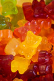 Gummy Bear Candies. Top view on heap of gummy bear candies Royalty Free Stock Photos