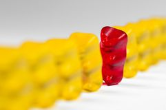 Gummy bear Royalty Free Stock Photography