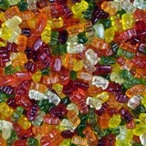 Gummy bear Sweets Royalty Free Stock Photography