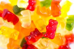 Gummy bears royalty free stock photo