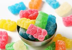 Gummy bears Royalty Free Stock Photography