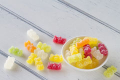 Gummy bears Stock Image