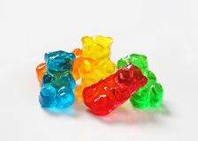 Gummy bears Royalty Free Stock Image