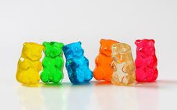 Gummy bears Royalty Free Stock Images