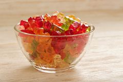 Gummy bears Royalty Free Stock Photo