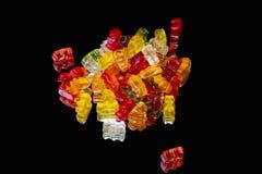 Gummy bears isolated stock photography
