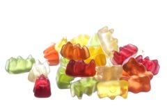Gummy Bears Macro Isolated royalty free stock photo