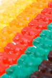 Gummy bears series background texture Stock Photos