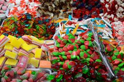 Gummy candies Royalty Free Stock Photos