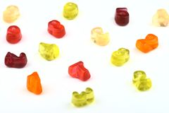 Gummy candies Royalty Free Stock Photo