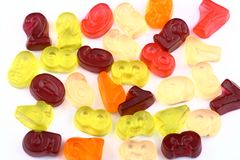 Gummy candies Royalty Free Stock Images