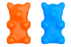 Gummy Candy Bears Royalty Free Stock Images