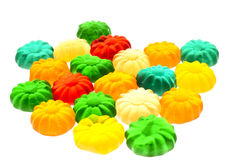 Gummy candy. Some sweet colorful gummy candy close up Stock Image