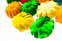 Gummy candy. Some sweet colorful gummy candy close up Royalty Free Stock Photo