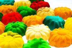 Gummy candy. Some sweet colorful gummy candy close up Royalty Free Stock Image