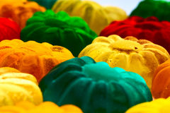 Gummy candy. Some sweet colorful gummy candy close up Stock Images