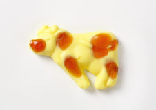 Gummy cow Royalty Free Stock Photography