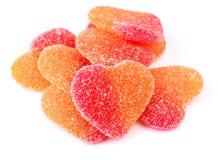 Gummy heart shaped Royalty Free Stock Photos