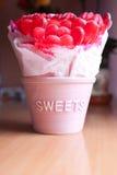 Gummy Hearts Stock Photos