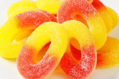 Gummy Rings Stock Photos