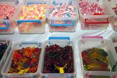 Gummy sweets Stock Photography