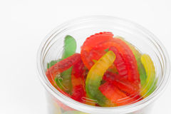 Gummy Worms. From the Candy Aisle royalty free stock photos
