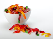 Gummy Worms Stock Photo