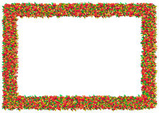 Gummy worms Frame Stock Images