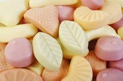 Gummy yogurt background Stock Photo