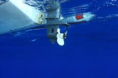 Gumowa łódź Obraz Royalty Free