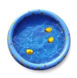 Gumowa żółta kaczka Obraz Stock