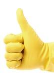 Gumowa rękawiczka zdjęcie stock