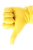Gumowa rękawiczka zdjęcia stock