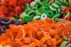 Gumowaty i galaretowy cukierek zdjęcia stock