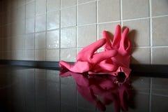 gumowe rękawiczki Zdjęcie Stock