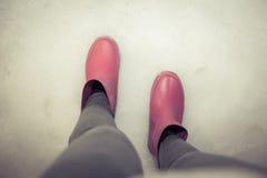 Gumowi buty Zdjęcia Stock