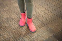 Gumowi buty Obrazy Royalty Free