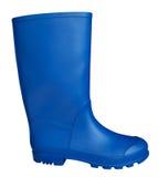 Gumowy but - błękit Obrazy Royalty Free