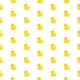 Gumowy kaczka wzór Obrazy Stock