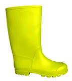 Gumowy but - kolor żółty Zdjęcia Stock