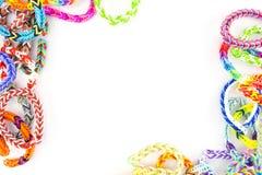 Gumowych zespołów bransoletki Zdjęcie Royalty Free