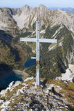 Gumpenkarspitze peak, Bavaria Royalty Free Stock Photo