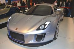 GUMPERT. At Qatar Motor Show Second Exhibition on the 25th of January 2012 stock images