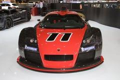 Gumpert Apollo R - Genf-Autoausstellung 2012 lizenzfreie stockbilder