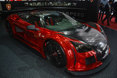 Gumpert Apollo S at the Geneva Motor Show Royalty Free Stock Photos