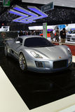 Gumpert Tornante Superleggera by Touring. Gumpert's new offering, shown as a World Premiere at the 2011 Geneva Motor Show, is the Tornante Superleggera by Royalty Free Stock Photo