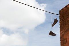2 gumshoes картона Стоковые Фото