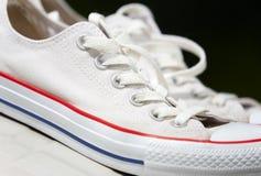 Gumshoes blancos Imágenes de archivo libres de regalías