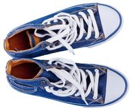 Gumshoes, tennis shoes Royalty Free Stock Photos