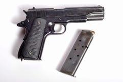 Gun. Photo of gun on white background Royalty Free Stock Photos